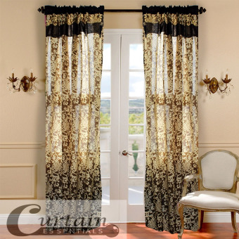 Curtain Essentials Royale Brown Set of 2 Price Philippines