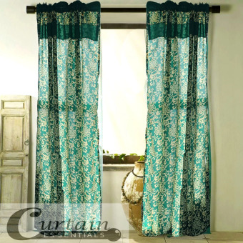 Curtain Essentials Royale Green Set of 2