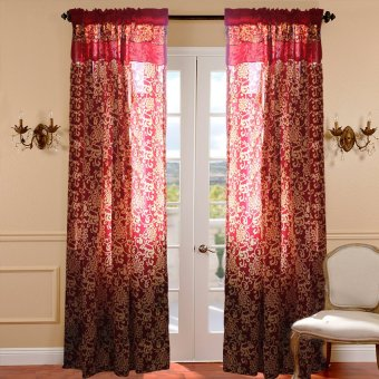 Curtain Essentials Royale Red Single Panel