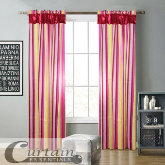 Curtain Essentials Woody Pink Single Panel