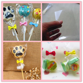Cute 100Pcs Cookies Candy Cake Gift Package Bag for Wedding/Holiday/Christmas/Party Useful Packing of Handmade food for Mom / Cake Shop (6*9CM) - intl