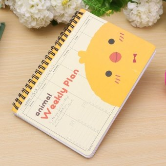 ... Cute Animal Coil Weekly Planner Mom's Agenda ScheduleJournalnotepad Plan Diary Yellow Duckling - intl ...