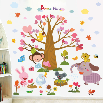 Cute children's room baby room Decorative Sticker wall stickers