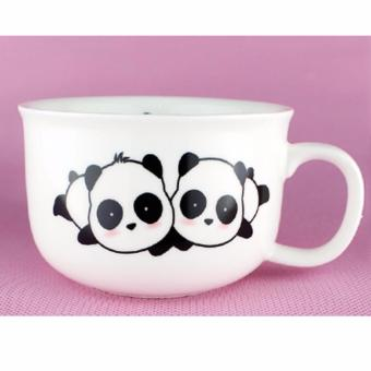 Cute Panda Message Ceramic Coffee Cup Tea Cup 50ml