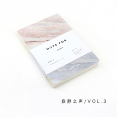 Cute Stationery Note for Silence 80 Pages Marble Designs A5 EmptyPages Notebook Journal DIY Personal Diary