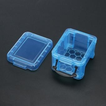 Cute Storage Boxes Home Furnishing Trumpet Mini Lock Box OrganizerBlue - intl - 5