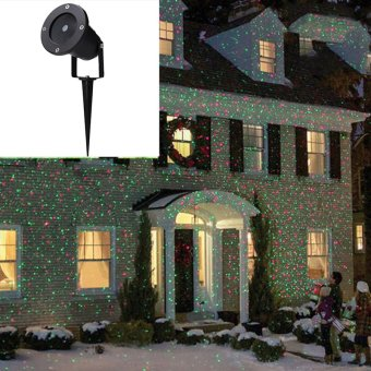 Cyber Outdoor Waterproof Christmas Party Lights Projector Moving lights (EU Plug)