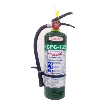 Cyclone Fire Extinguisher 05lbs HCFC-123 Clean Agent Chemical (Green) Price Philippines
