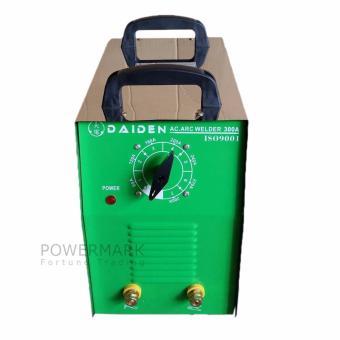 Daiden 300 Amperes Stainless Steel Portable Welding Machine(Silver/ Green) - 2
