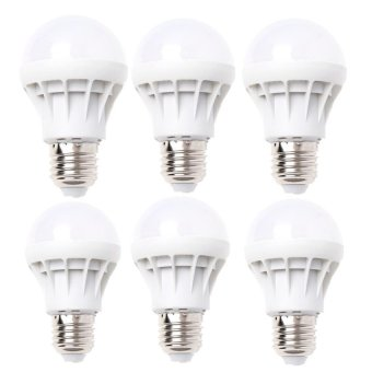 Daylight LED Bulb Set of 6 (White)