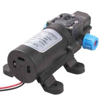 DC 12V 60W High Pressure Micro Diaphragm Water Pump AutomaticSwitch 5L/min - 2
