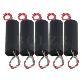 DC 3.6V to 400KV High Voltage Generator Module Power Set of 5 Black- intl