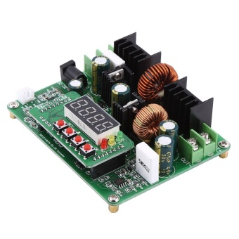 DC-DC Digital Voltage Step-up Step-down Module Boost Buck Converter Board 38V 6A - intl