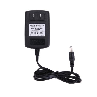DC12V 1.5A Adapter AC to DC Power Supply Converter 5.5*2.5mm(Black)-US Plug - intl