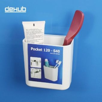 Dehub wall hangers-nailless suction wall-frame rack