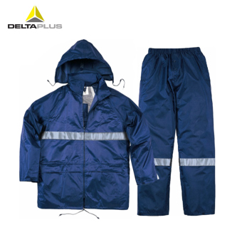 Deltaplus hooded dustproof poncho raincoat protective clothes