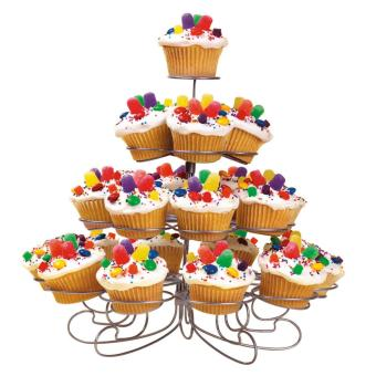 Detachable 4 Layers Cupcake Holder