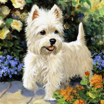 Diamond Painting Cross Stitch Diy Embroidery Dog Painting RoundDrill Diamond Mosaic Beads Pasted Needlework