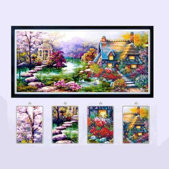 Diamond Painting Diy 5d Diamond Paste Embroidery Landscapes Gardenlodge - intl