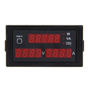 Digital Ammeter Voltmeter Current Electric Energy Meter AC200V-450V
