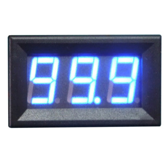 Digital DC Ammeter 5A Blue Panel Amp Meter Digital ElectricityMeter