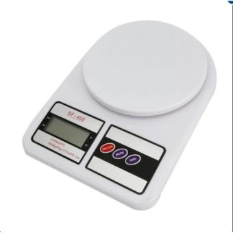 Digital Glass Kitchen Weighing Scale LCD 5KG / 1G