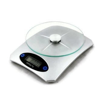Digital Glass Kitchen Weighing Scale LCD 5KG/1G