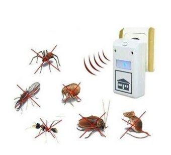 Digital Pest Insect Spiders Repellent Ultrasonic Repeller Rodent Control Reject - intl