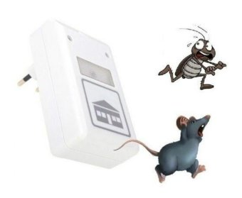 Digital Pest Insect Spiders Repellent Ultrasonic Repeller Rodent Control Reject - intl - 5