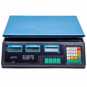 Digital Price Computing Scale (Black) Price Philippines
