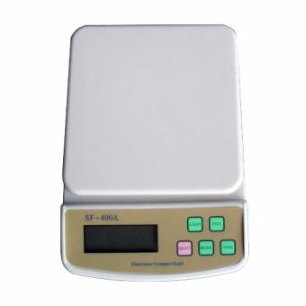 Digital Scale for Household & Kitchen Use SF-400A Compact Scale