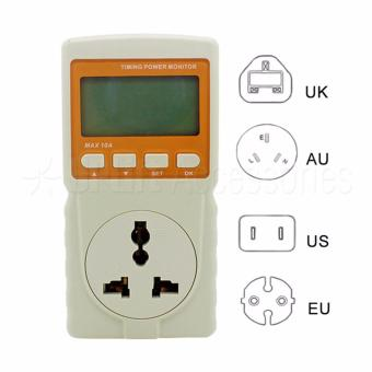 Digital Watt Meter / Power Meter / Power Reader with OvercurrentProtection and Back Light (220V Max 10A) Price Philippines