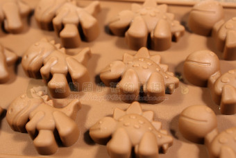 Dinosaur silicone chocolate cake Ice Tray