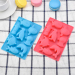 DIY cartoon silicone Ocean animal handmade chocolate cake mold