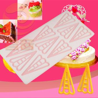 DIY chocolate porous shape birthday cake silicone Mold