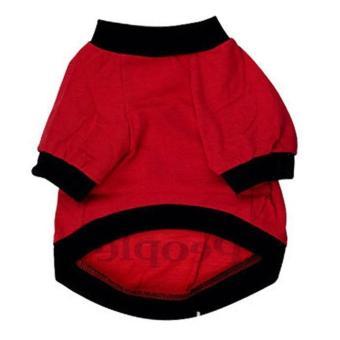 Dog Summer T Shirt Sweatshirt for Pets Puppies size:M - intl - 2