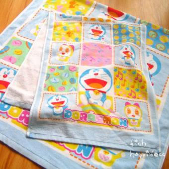 Doraemon machine cat cotton towel