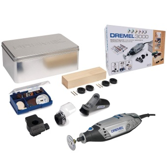 Dremel 3000 Derby Kit Rotary Tool with Dremel Bag