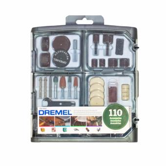 Dremel 709-RW2 All Purpose 110 Accessories & Storage Kit for Dremel Rotary Tools