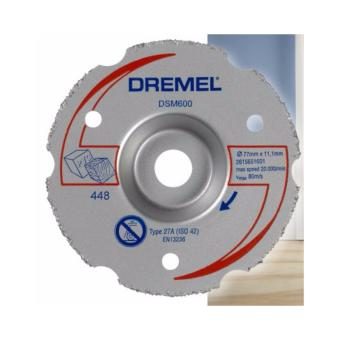Dremel Multi-Purpose Flush Cut Carbide Wheel DSM600-RW