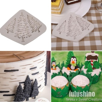 Dry Tree Shape Fondant Cake Embosser Home Kitchen Mould Mold Maker Craft Tools - intl Price Philippines