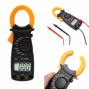 DT3266L Digital Clamp Meter Multimeter Voltage Current ResistanceTester - intl Price Philippines
