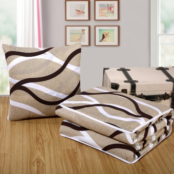 Dual Nap Pillow Quilt Multifunctional Cushion Quilt(Simple life) -intl