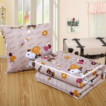 Dual Nap Pillow Quilt Multifunctional Cushion Quilt(Snoopy) - intl