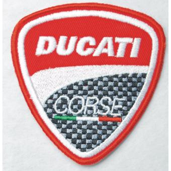 Ducati Corse Embroidered Cloth Patch