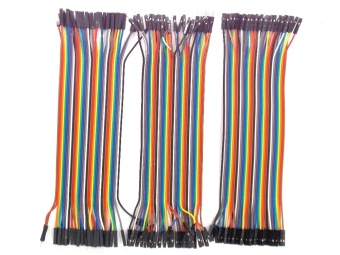 Dupont line 120pcs 20cm male to male + male to female and female to female jumper wire Dupont cable - intl