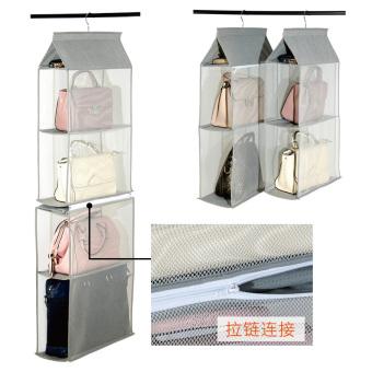 Durable can be split multi-storage hanging bag