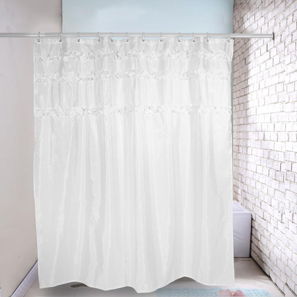durable waterproof shower curtain with plastic hooks 5 180 x 200cm intl lazada ph