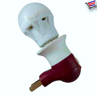 E-27 Plug Type Lamp Holder With Led Bulb-/3w,