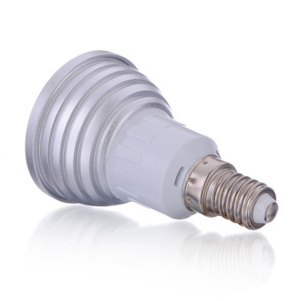 E14 3W LED 16 Color Changing RGB Light Lamp Bulb with Remote Control AC 110V US - intl - picture 2